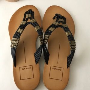 Leather Dolce Vita thong sandals